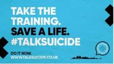 Take the Training, Save A life #TalkSuicide