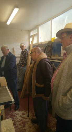 Men in Shed's in Winterton