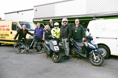 Wheels to Work Scheme North East Lincs. (Scooter Hire Scheme)  - Current Project